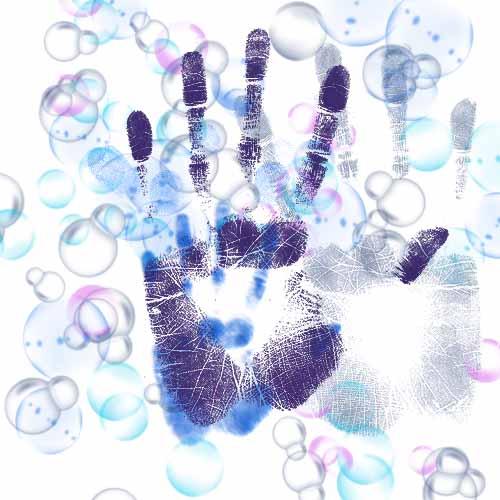 мыльные пузыри, кисти фотошопа